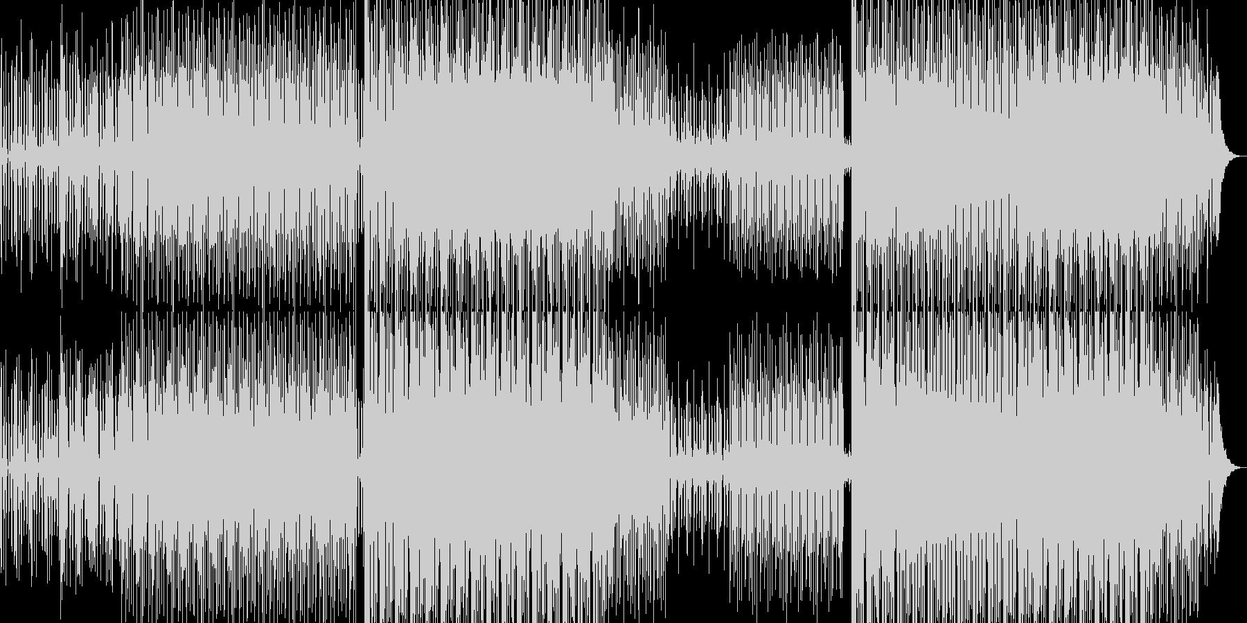 ニュース向けBGM(リズムグルーヴ)の未再生の波形