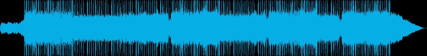 洋楽/ギター/Retrowave/ビートの再生済みの波形
