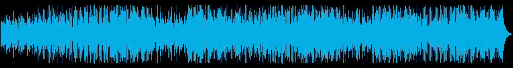 ゆったりとしたグルーヴにエレキギタ...の再生済みの波形