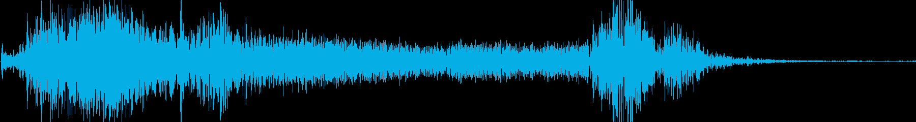 マンティスサイドパネルサーボの再生済みの波形