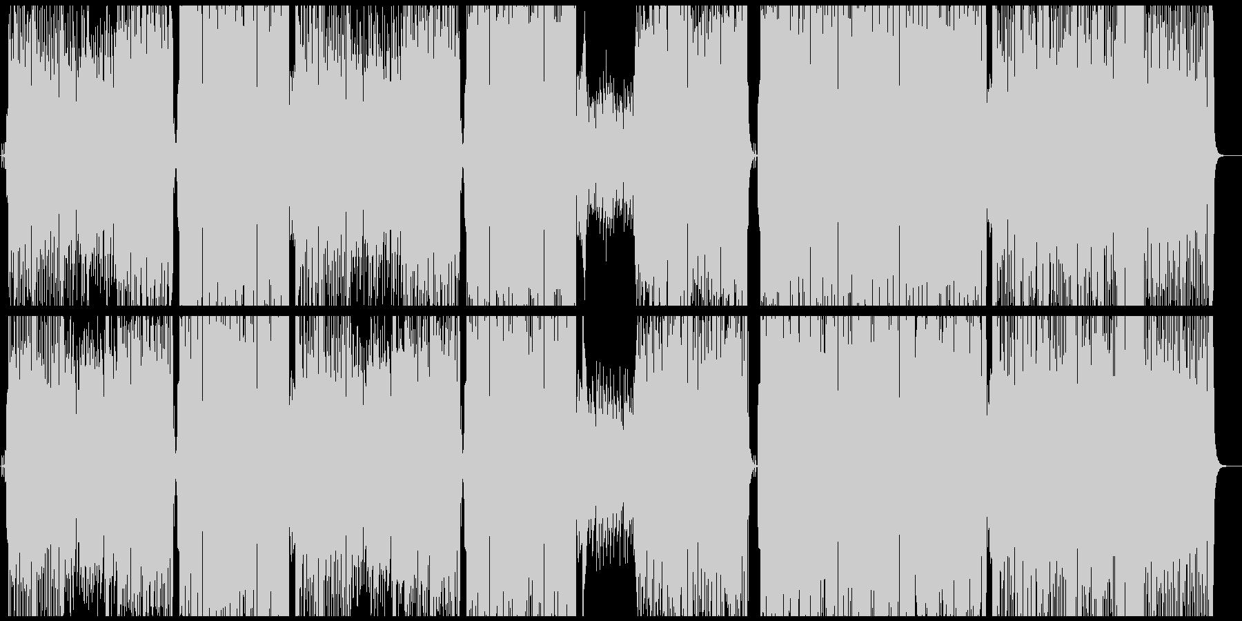 ビッグバンドジャズ/フルート/ピアノの未再生の波形