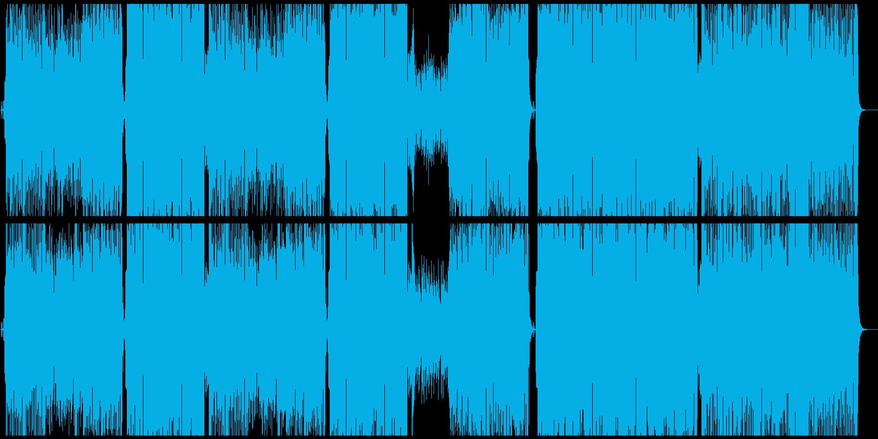 ビッグバンドジャズ/フルート/ピアノの再生済みの波形