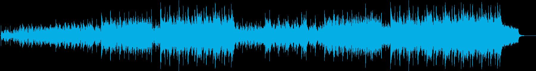Rhythmic and lively Celtic folk music's reproduced waveform