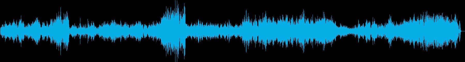 【生演奏】カッコいいバイオリンソナタ4章の再生済みの波形