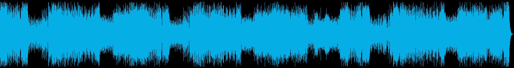 交響曲第25番K.183 リズム入りの再生済みの波形