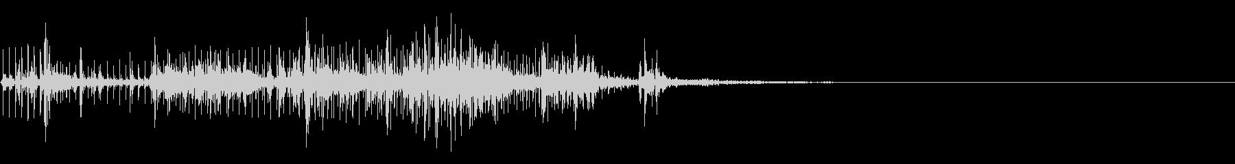 スパーク音-27の未再生の波形