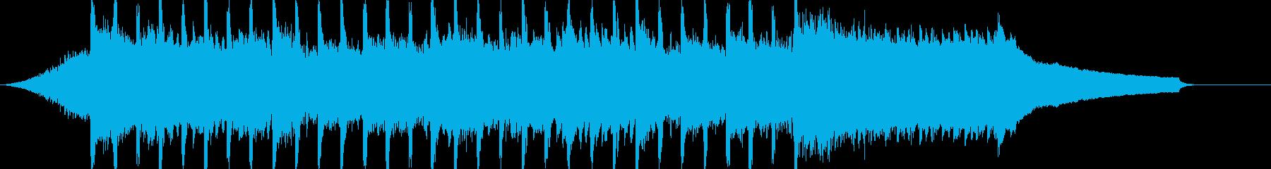 企業VP系52、爽やかピアノ4つ打ちcの再生済みの波形