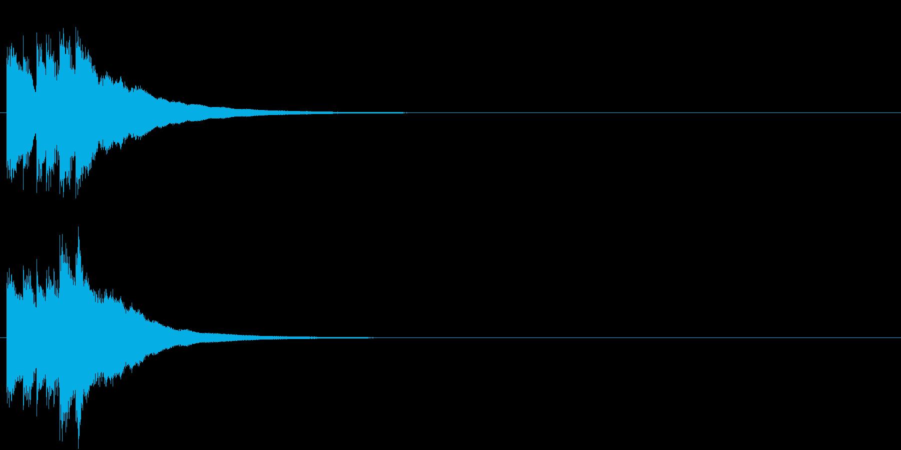 キラキラ  宇宙 決定 星 グロッケン2の再生済みの波形
