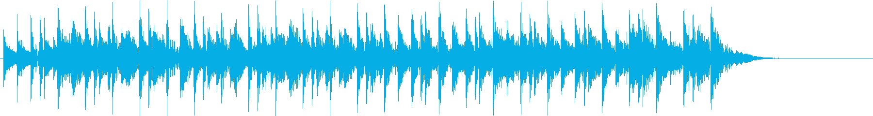キュートでポップなアコースティックバンドの再生済みの波形