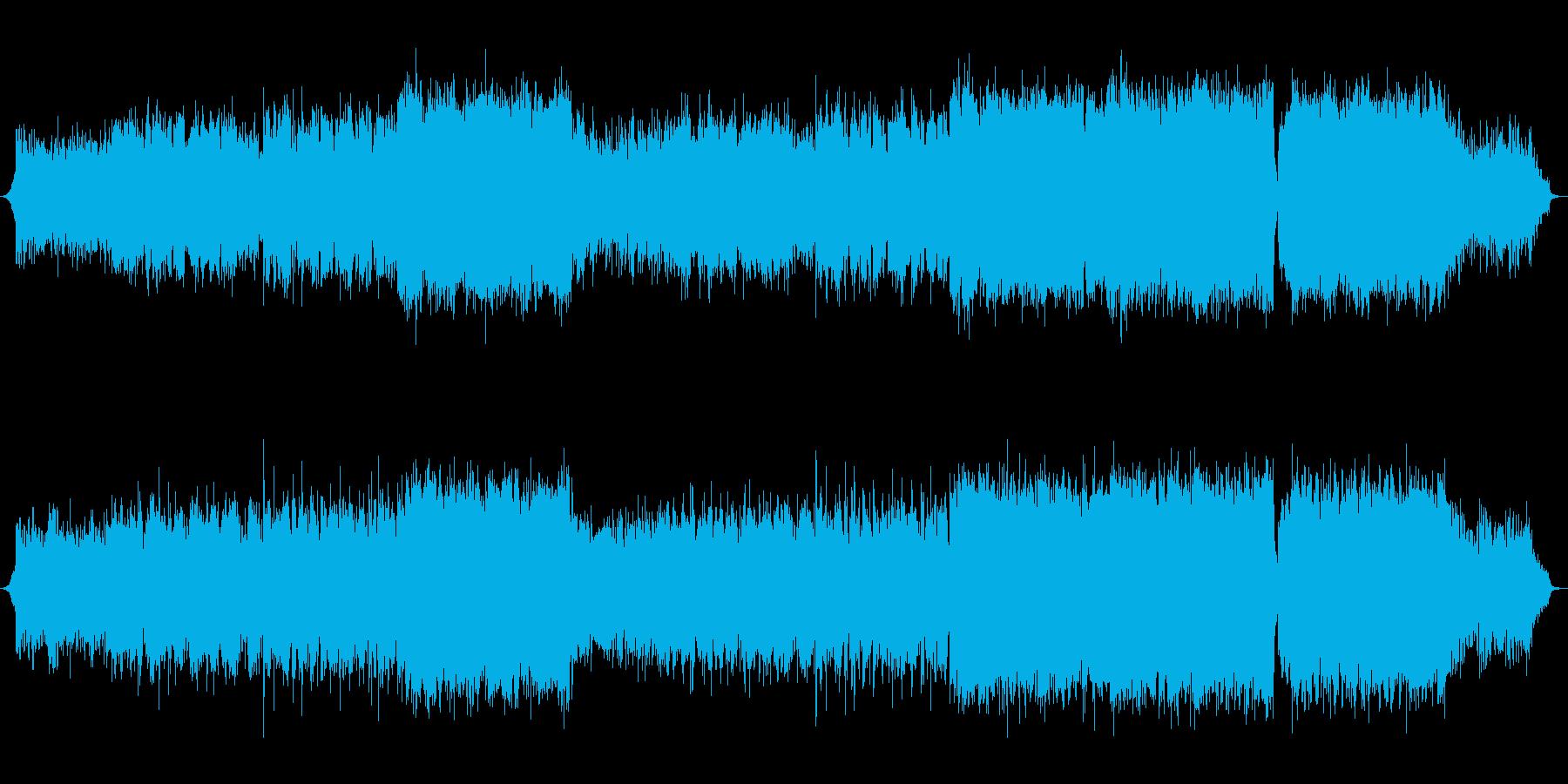 【生演奏】壮大でグッとくる感動的な和風曲の再生済みの波形