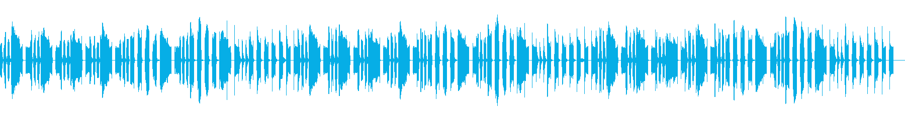 のんびりお遊戯ソング3〜森のくまさん〜の再生済みの波形