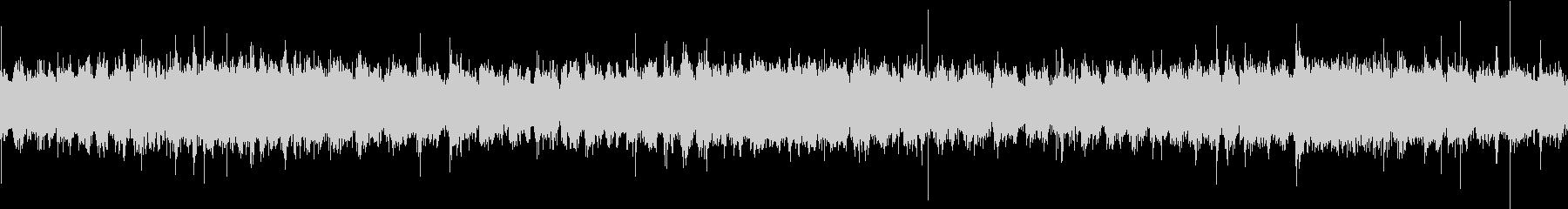 水車の音(ループ用)の未再生の波形
