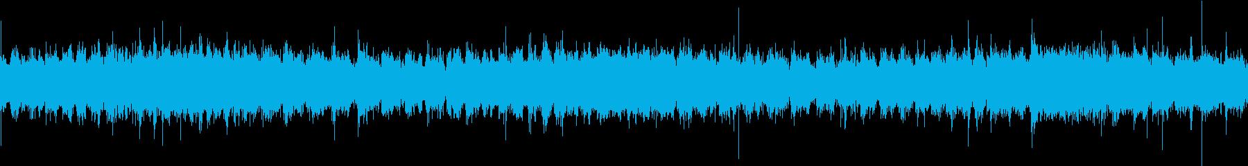 水車の音(ループ用)の再生済みの波形
