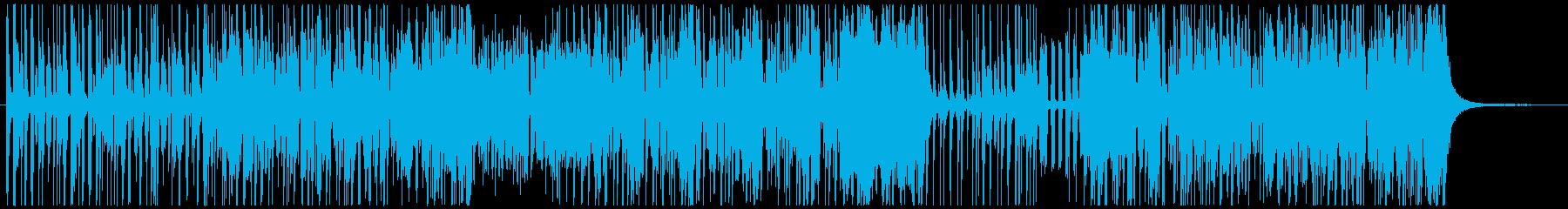 ファンク アクティブ 明るい ゆっ...の再生済みの波形