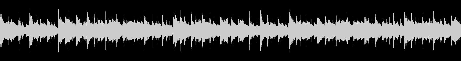 シンプルな感動系のピアノとアコギの伴奏の未再生の波形