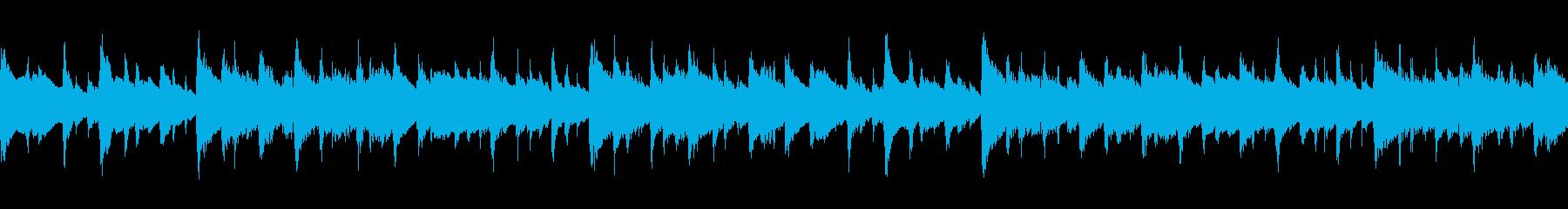 シンプルな感動系のピアノとアコギの伴奏の再生済みの波形