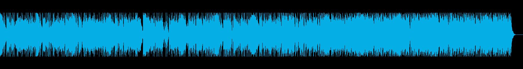 クールな雰囲気のロックの再生済みの波形