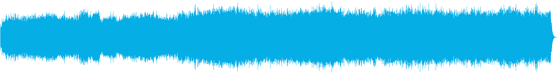 バッハのプレリュードをシンセで幻想的にの再生済みの波形