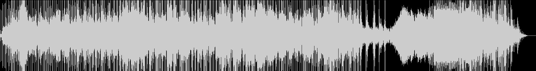ジャズ風のオープニング曲の未再生の波形