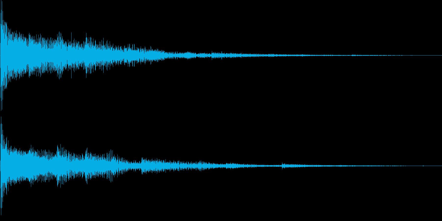 サウンドロゴ メロディック 不穏の再生済みの波形