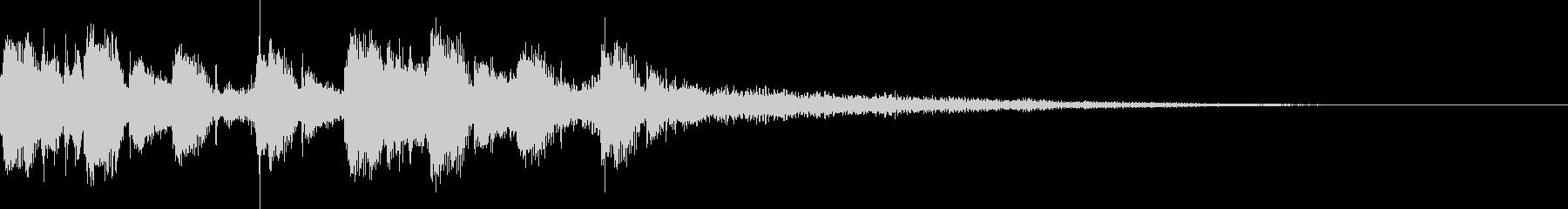 モダン・最先端・EDMジングル4の未再生の波形