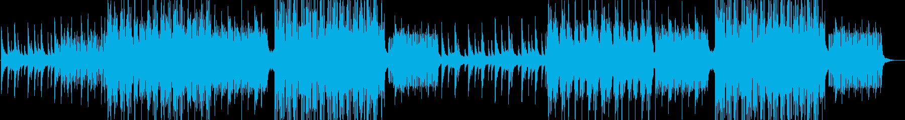 爽やか-希望-ゆったり-PV・CM映像の再生済みの波形