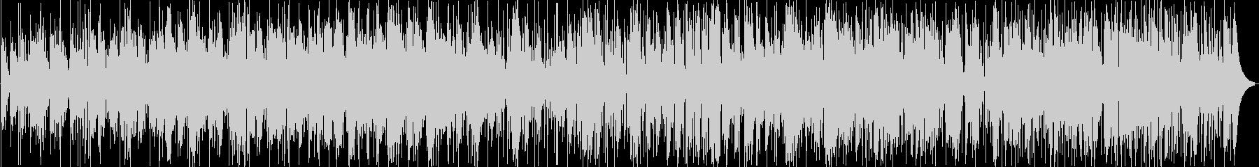 アコーディオンによるジャズワルツの未再生の波形