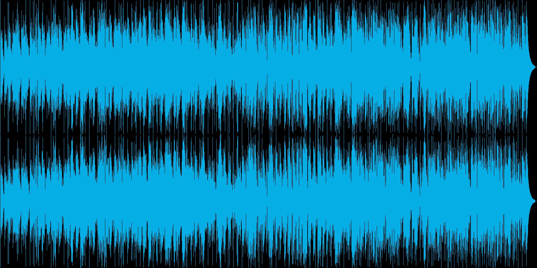アコーディオンによるジャズワルツの再生済みの波形