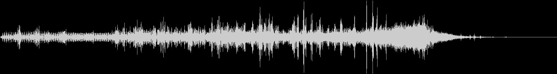 【SE 効果音】不気味な音2の未再生の波形