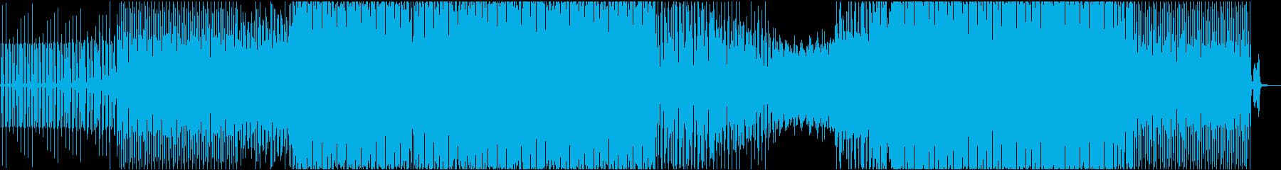 渋めのディープハウスの再生済みの波形