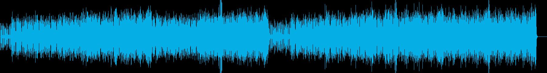 ラテン語リズミカルなパーカッシブな...の再生済みの波形