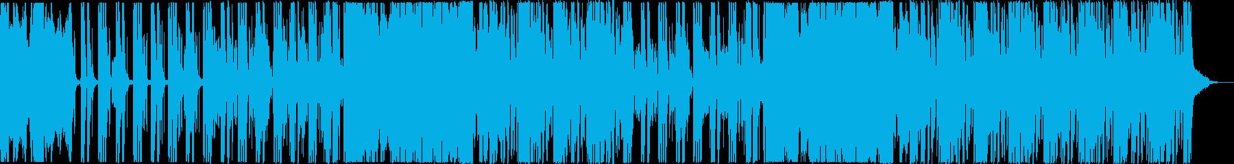 爽やかで夏っぽいおしゃれなEDMの再生済みの波形