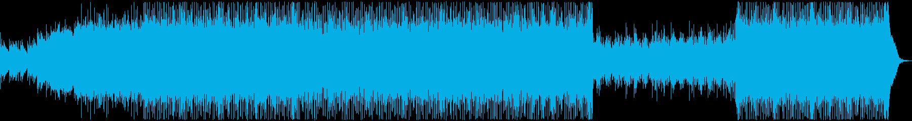 ヘヴィロック アクション 繰り返し...の再生済みの波形