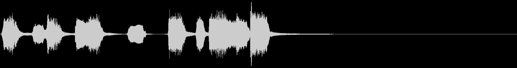 シンプルなリコーダーのアイキャッチ3の未再生の波形