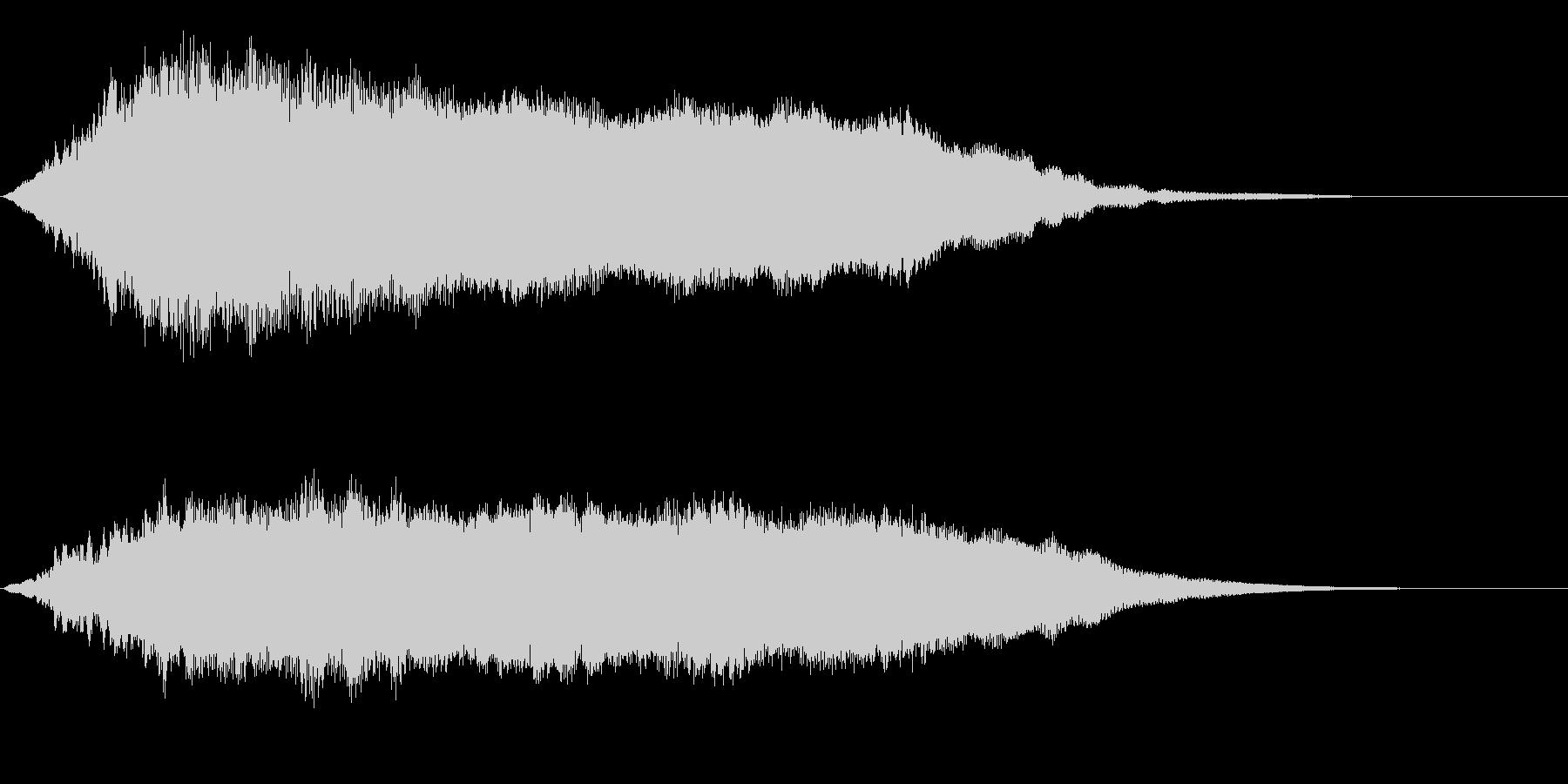 タイタニック船の内部的なサスペンスSEの未再生の波形