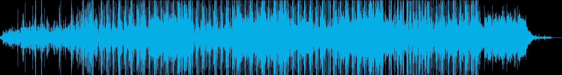 ソウルでファッションな曲の再生済みの波形