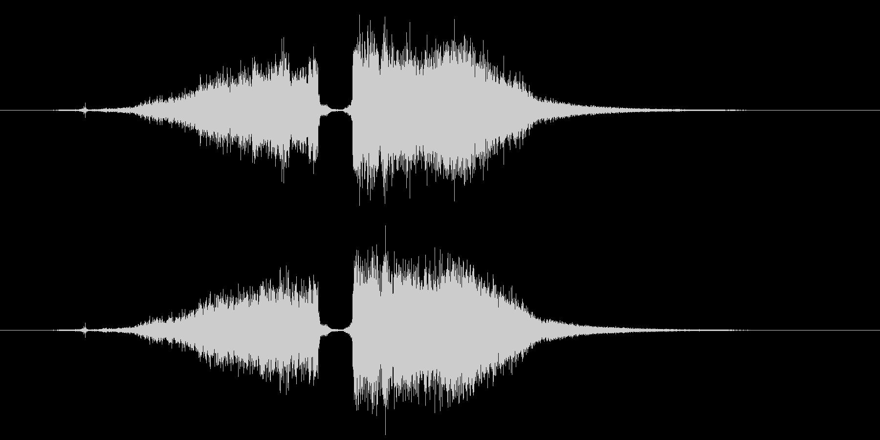 攻撃魔法 水属性 1の未再生の波形
