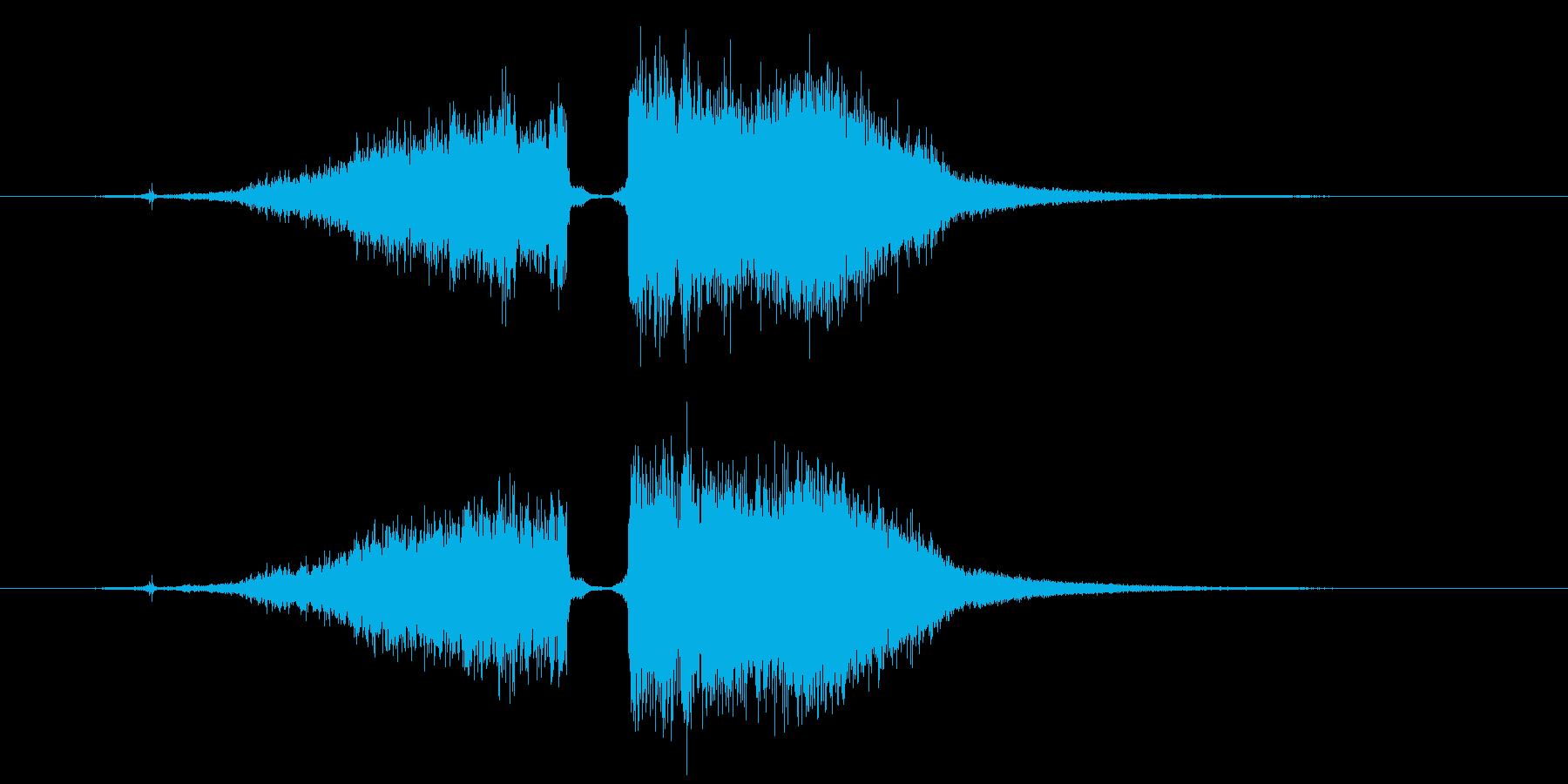 攻撃魔法 水属性 1の再生済みの波形