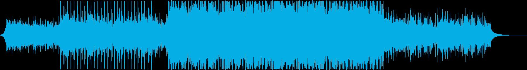 企業VP映像01/爽やか疾走感Aの再生済みの波形