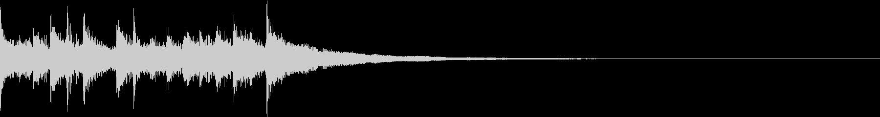 ジングル:オシャレポップギター4(XS)の未再生の波形