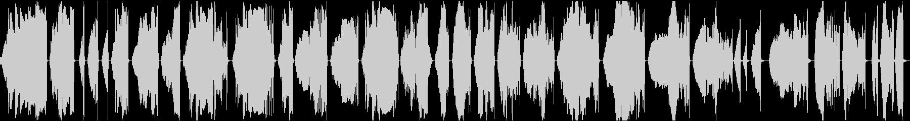 スペースワープとタイムシフトの喪失...の未再生の波形