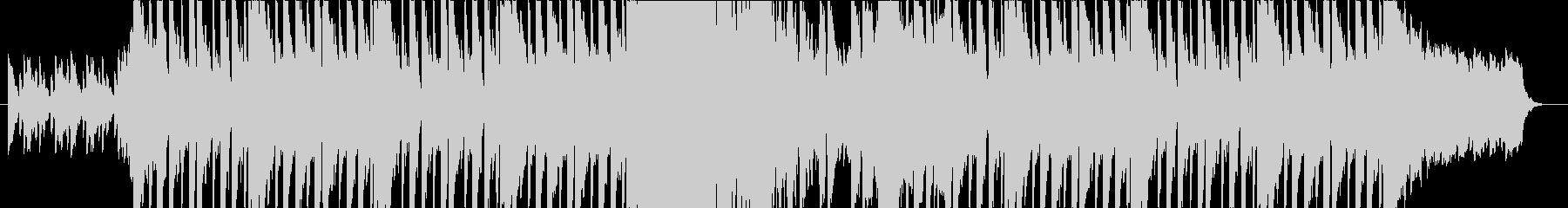 ダークな雰囲気のEDMの未再生の波形