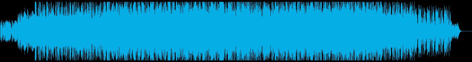 アナログシンセの80sロックの再生済みの波形
