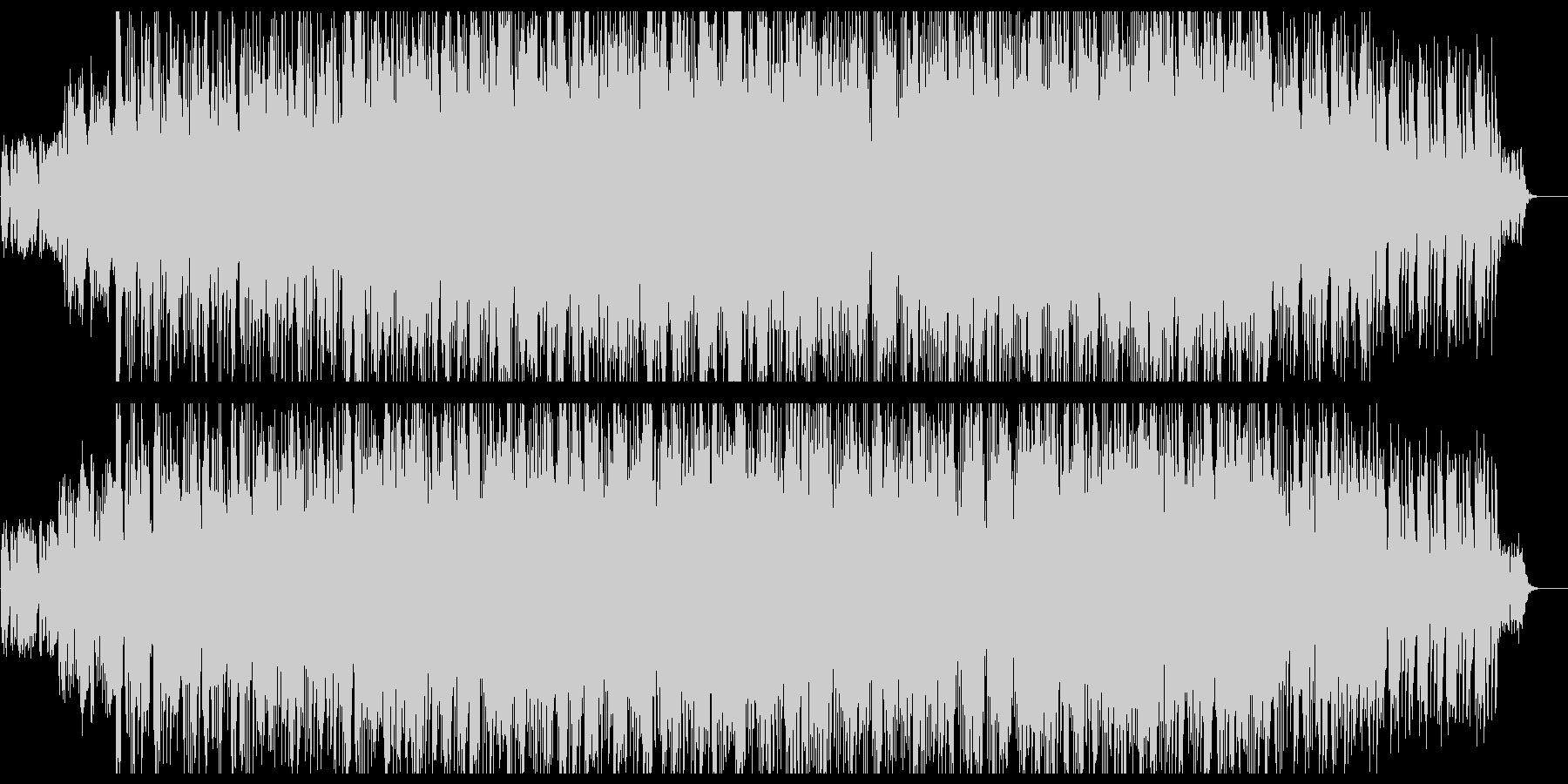 アナログシンセの80sロックの未再生の波形
