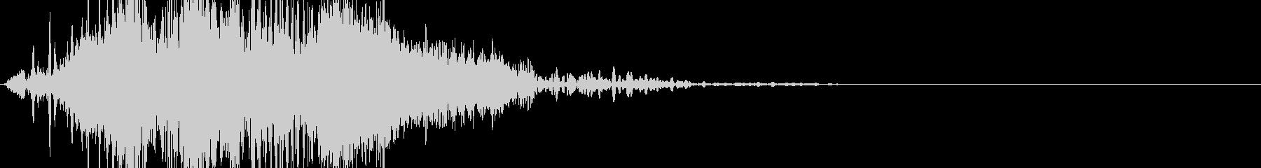 SciFi系 UIイメージ音です。の未再生の波形