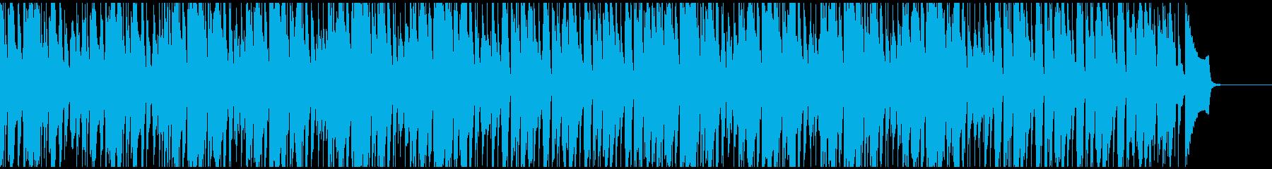 ダラーっとしてしまう日常の曲の再生済みの波形