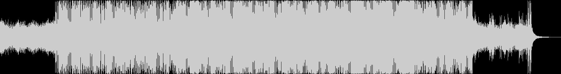 ナイト ドライブ レトロ シンセウェイブの未再生の波形