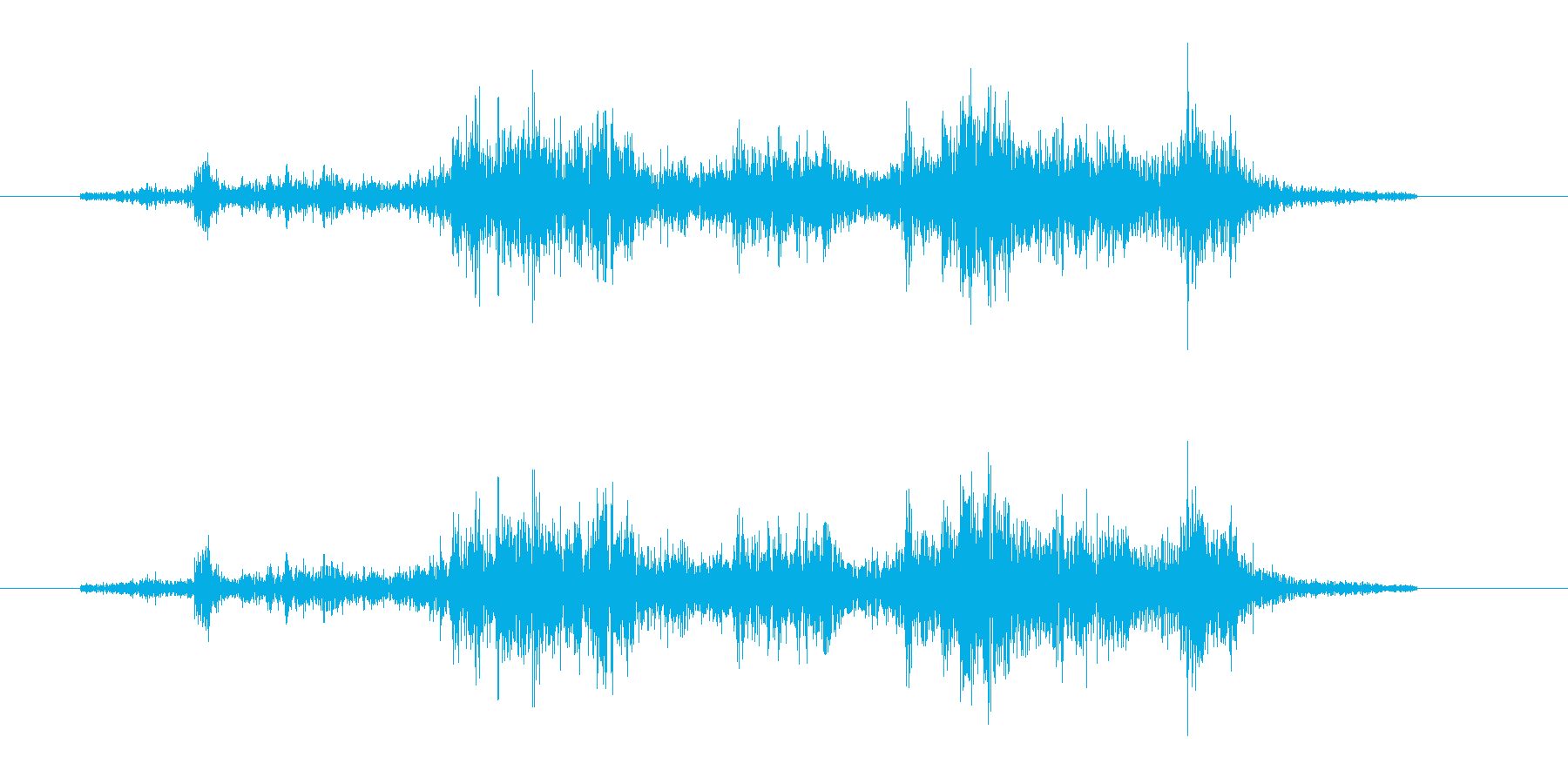 納刀音の再生済みの波形