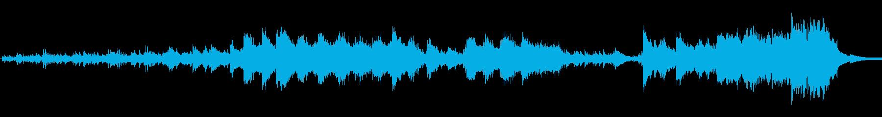 事務所の再生済みの波形