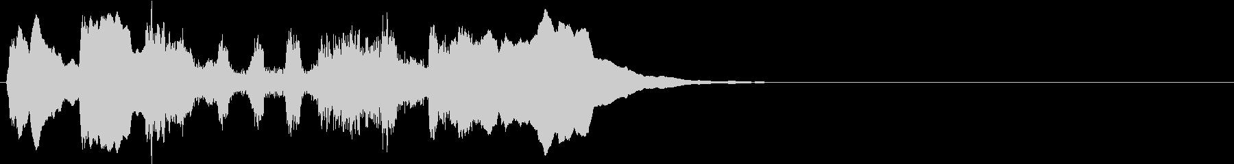 勇ましく不思議なブラス バルトークの未再生の波形